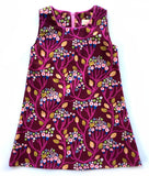 A is for A-Line Dress: Purple Forest