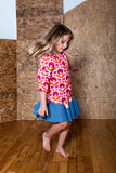 Slip-on cotton blouse - Juicy