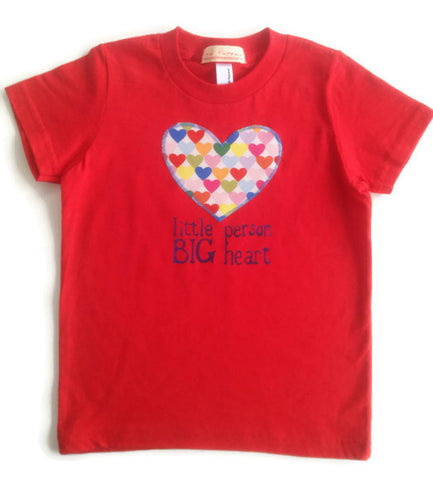 Little Person Big Heart Tee