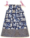 Indigo Cats Sundress converts from a dress to a top