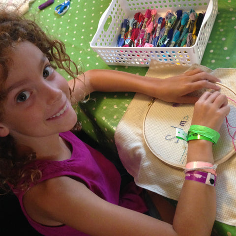Sewing Camp Aug 7-10: Embroider-whee!