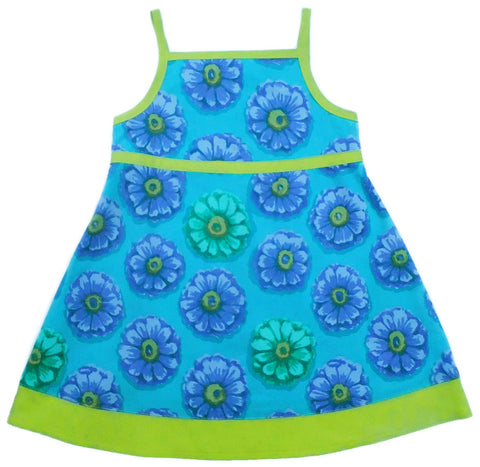 Summer Spirit Dress - Ocean (size 2 only)
