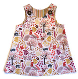 Caterpillar Dress - Woodland Creatures