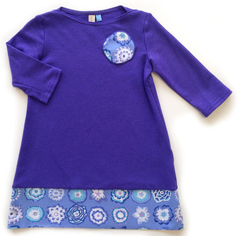 Bamboo Play Dress - violet