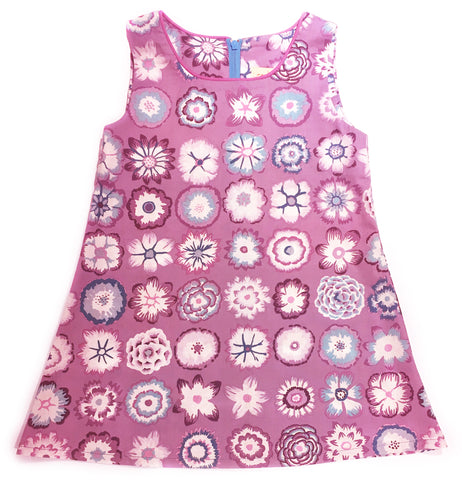A is for A-Line Dress - Button Flowers