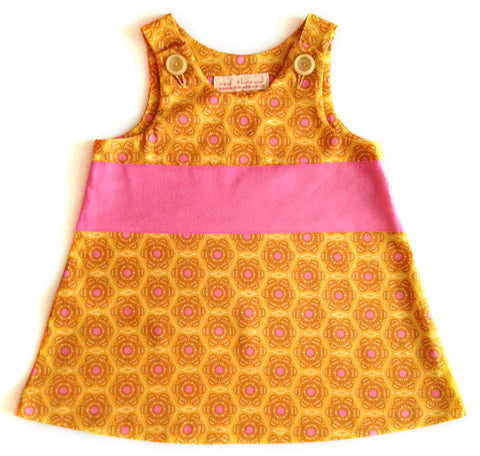 Caterpillar Dress - Golden
