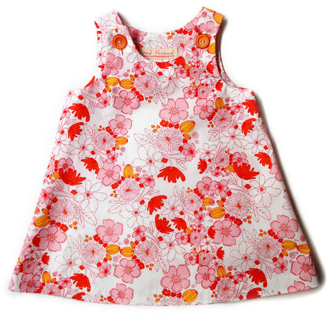 Caterpillar Dress - Blossoming