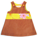 Caterpillar Dress - Butterscotch