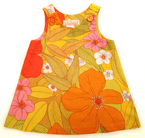 Caterpillar Dress - Garden
