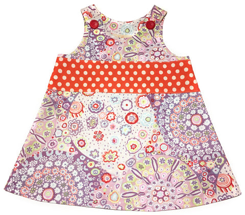 Caterpillar Dress - Millefiori