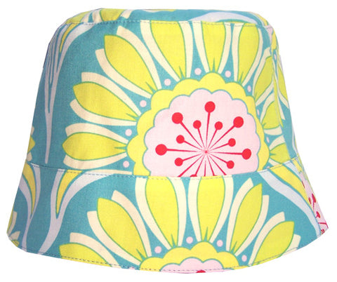Reversible Summer Hat - Ocean Blue