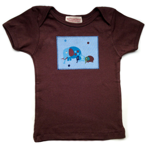 Little Elephant Tee_brown