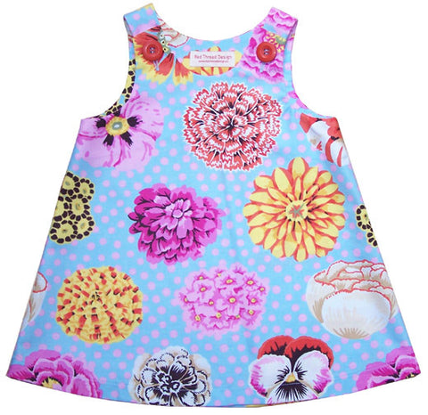 Caterpillar Dress - Flower Power