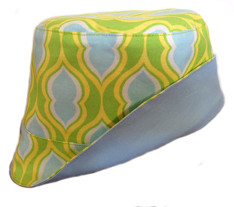 Reversible Summer Hat - Lemonlime