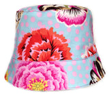 Reversible Summer Hat - Flower Power
