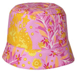 Reversible Summer Hat - Plum