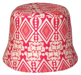 Reversible Summer Hat_Pomegranate