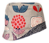 Reversible Summer Hat - Pop Garden