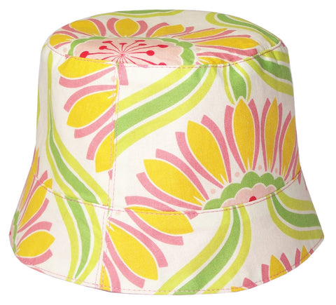 Reversible Summer Hat - Rose