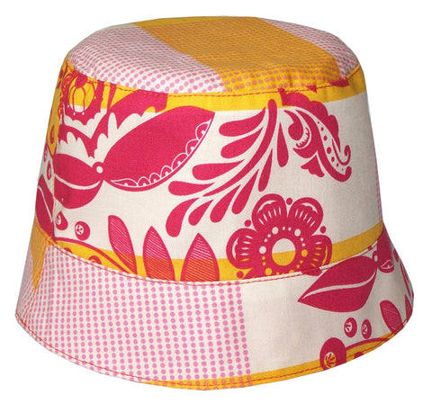 Reversible Summer Hat - Saffron