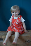 Caterpillar Dress - Bouquet (organic cotton)