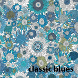 The Liberty Blouse (Classic Blues)