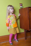 Slip-on cotton blouse - Citrus