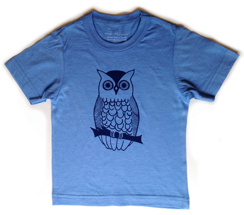 Night Owl tee - bamboo & organic cotton