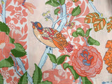 a detail of the print, a beautiful fabric by designer Melissa White