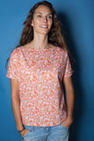 The Liberty Top - Retro Floral