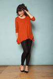 The Bamboo Tunic - Auburn