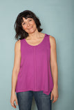 The Bamboo Breeze Top - Fuchsia
