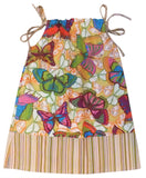 girls butterfly sundress, ethically made in Canada