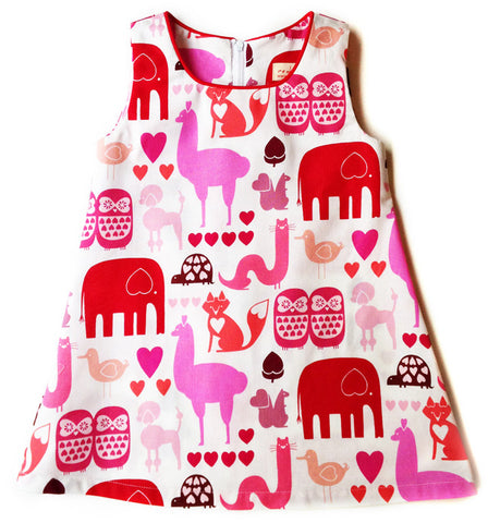 A is for A-Line Dress - I Heart Animals