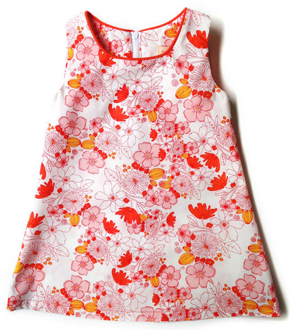 A is for A-Line Dress - Blossoming