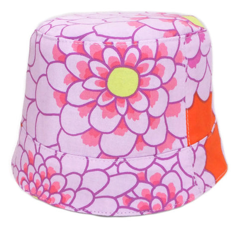 Reversible Summer Hat - Mod Floral