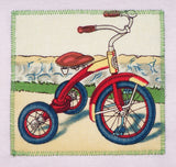 Vintage tricycle tee_organic cotton