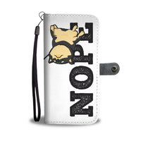 Black and Tan - NOPE Wallet Case