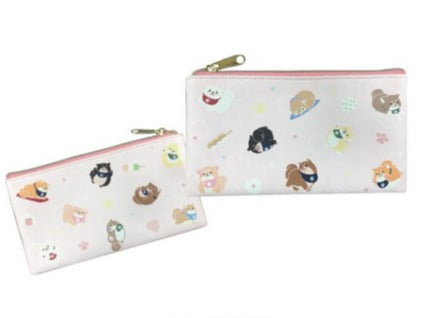 Mochi Shiba - Flat Pencil/Make-up Pouch