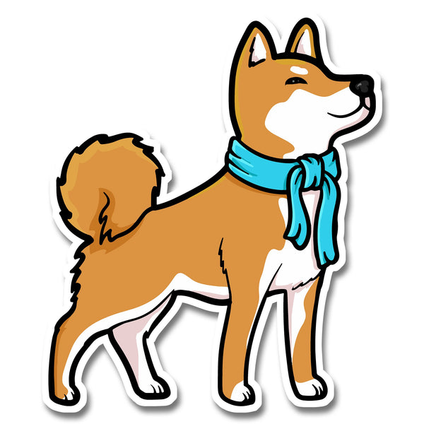 Look But Don't Touch - Die Cut Stickers - Stubborn Shiba Co
