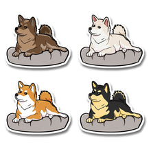 Judgemental Shibe - Die Cut Stickers - Stubborn Shiba Co