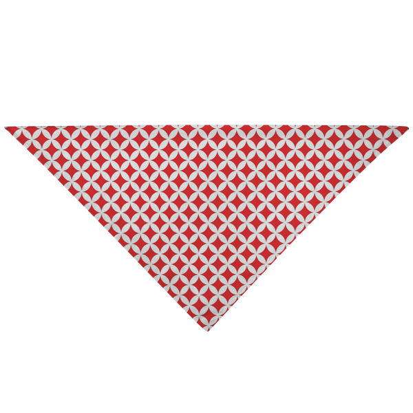 Japanese Bandana - Red Diamonds - Style 005