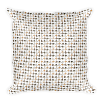 Shiba Inu Pillow - Black and Tan Square Pillow - Stubborn Shiba Co