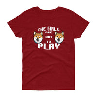 The Girls are Out To Play - Women's short sleeve t-shirt