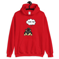 Shiba Inu Shirt - Escape Plan Hooded Sweatshirt