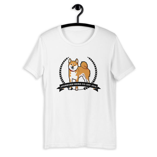 The Original Stubborn Shiba - Red Shiba - Short-Sleeve Unisex T-Shirt