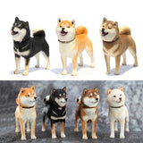 Japanese Shiba Inu with Two Heads - 1/6th Scale Figure - Stubborn Shiba Co