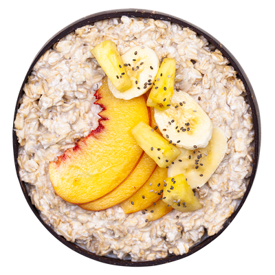 Banana Ginger Overnight Oats