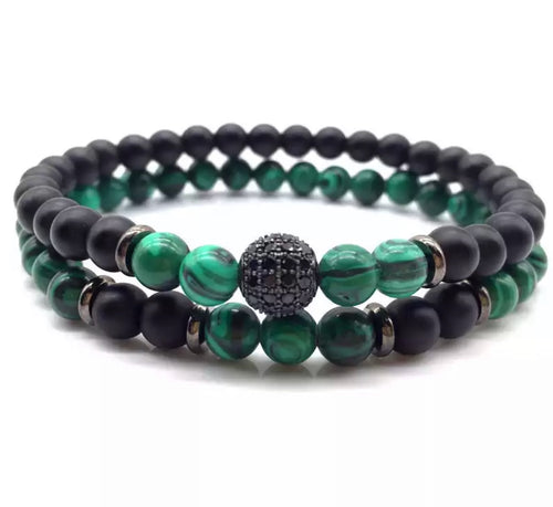 Green Lantern Set-Men's Bracelet