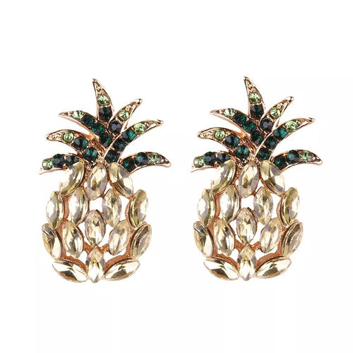 'Pineapple Princess' Studs